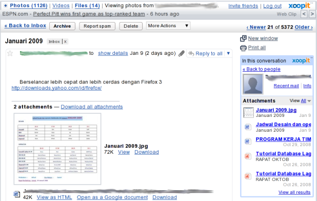 Xoop for Gmail