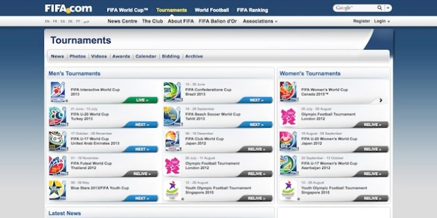 http://www.fifa.com/tournaments/index.html