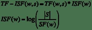 TF-ISF